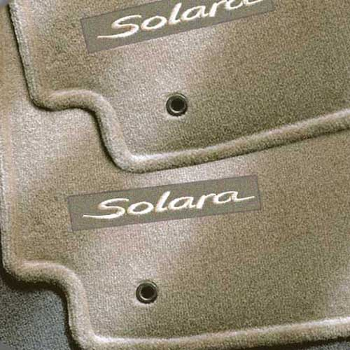The Best New 2005 Toyota Solara Hard Top Carpeted Floor