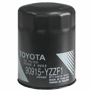 2005 (2004-2010) Scion tC 4cyl. 2.4L Oil Filter Spin-on Style Direct Factory Replacement Genuine Toyota #90915-YZZF1