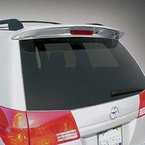 2005 (2005-2010) Toyota Sienna Rear Lip Spoiler Salsa Red Pearl (color code 3Q3) Genuine Toyota #PT29A-08050-03