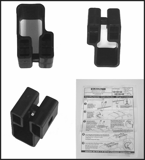 2005 2006 Subaru Legacy Bike Rack Clamps For Thule Square