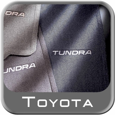 Carpeted Tundra Floor Mats