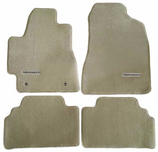 The Best New 2006 Toyota Highlander Hybrid Carpeted Floor