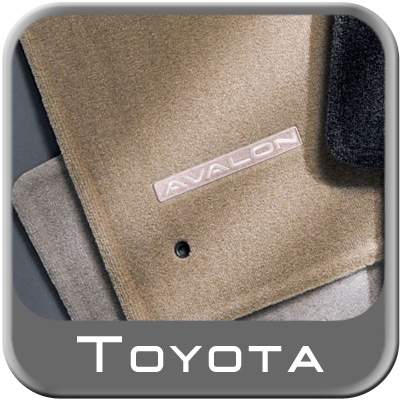 2005 2012 Toyota Avalon Carpeted Floor Mats Ivory