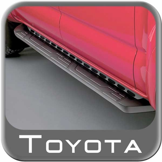 2005-2014 Toyota Tacoma Running Boards Black Complete Kit