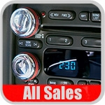 Ram Truck Radio Knob Covers