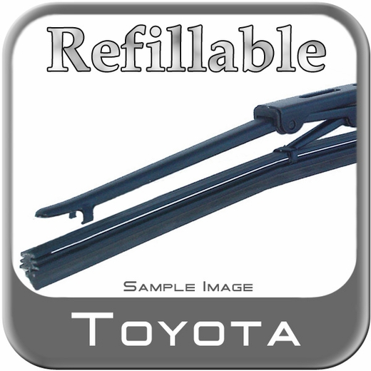 Toyota Wiper Blade w/Replaceable Refill Sold Individually Genuine Toyota #85242-42030