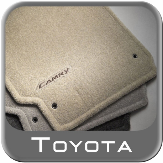 2007 2011 toyota camry carpeted floor mats brown