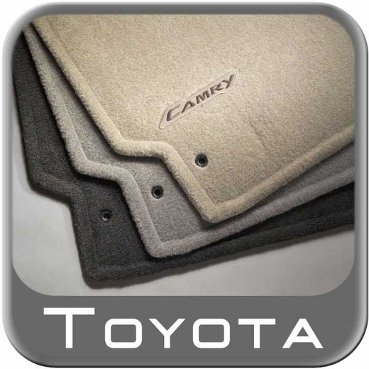2007 2011 Toyota Camry Floor Mats Carpeted 4 Piece Set