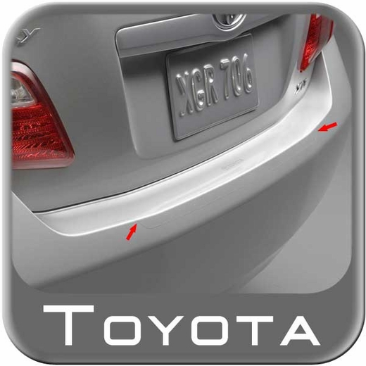 2007-2011 Toyota Camry Rear Bumper Protector Clear w/Pearl ...