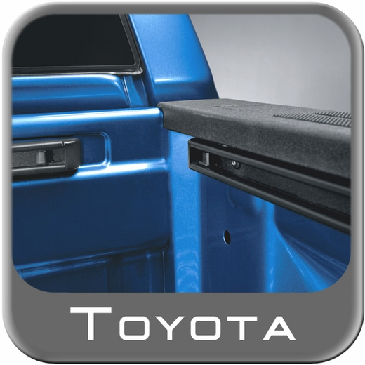 2007-2017 Toyota Tundra Bed Deck Rail Kit w/4 Deck Rail Cleats For Regular Bed Genuine Toyota #PT278-34072