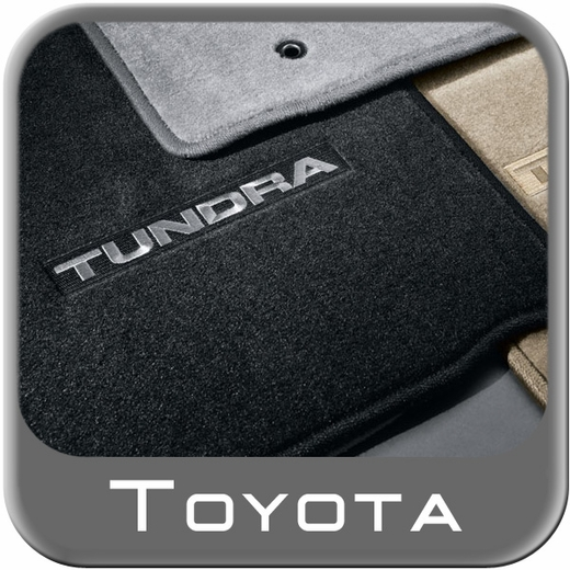 2007 2011 Toyota Tundra Carpeted Floor Mats Black