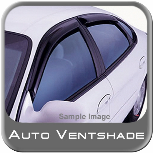 2007-2012 Nissan Altima Rain Guards / Wind Deflectors Ventvisor Dark Smoke Acrylic 4-piece Set Auto Ventshade AVS #94005