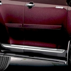 2008 (2008-2010) Toyota Highlander Body Side Moldings Salsa Red Pearl (color code 3Q3) Set of 4 Genuine Toyota #PT29A-48080-03