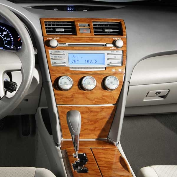 new 2008 2009 toyota camry le 6cyl auto wood dash kit from brandsport auto. Black Bedroom Furniture Sets. Home Design Ideas