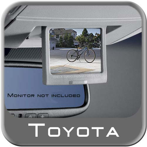 New 2008 2009 Toyota Sequoia Back Up Camera From