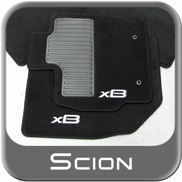 2013 Scion Xb Transmission: 2008-2012 Scion XB Floor Mats Rubber, All-Weather Front