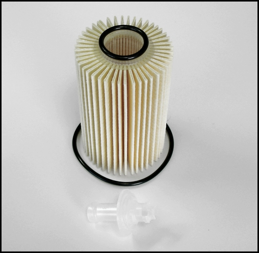 Toyota Land Cruiser Oil Filter Cartridge Style Direct Factory Replacement on Toyota Tercel Fuel Filter