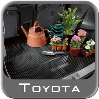2009-2016 Toyota Venza Cargo Mat Rubber, All Weather Black Genuine Toyota #PT908-0T091-02