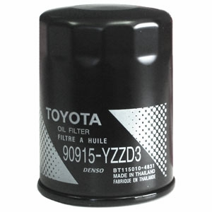 2010 (2005-2011) Toyota Tundra 6cyl. 4.0L Oil Filter Spin-on Style Direct Factory Replacement Genuine Toyota #90915-YZZD3