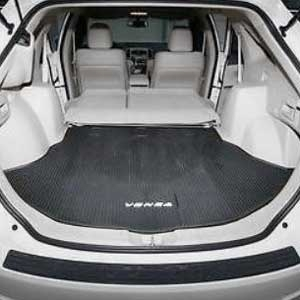 2010 (2009-2016) Toyota Venza Cargo Mat Rubber, All Weather Black Genuine Toyota #PT908-0T091-02