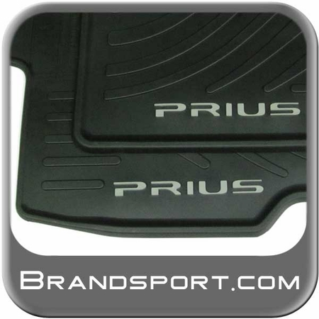 New 2010 2011 Toyota Prius Rubber Floor Mats From