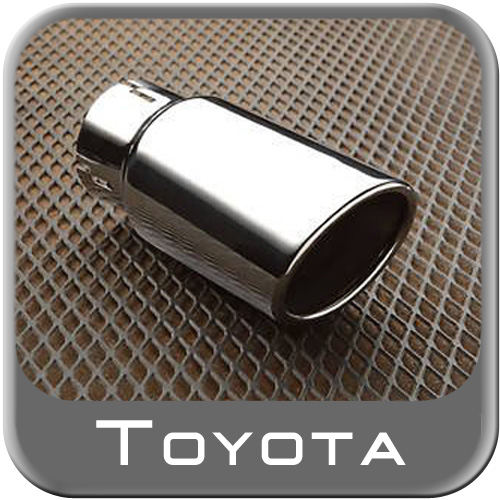 2010 2016 toyota 4runner exhaust tip polished stainless steel