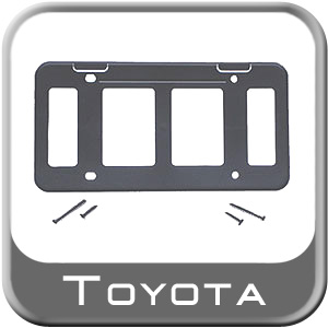 2010-2013 Toyota Tundra License Plate Mounting Bracket For Front License Plate