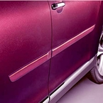 2011 (2011-2013) Toyota Highlander Body Side Moldings Predawn Gray Mica (color code 1H1) Set of 4 Genuine Toyota #PT29A-48110-21