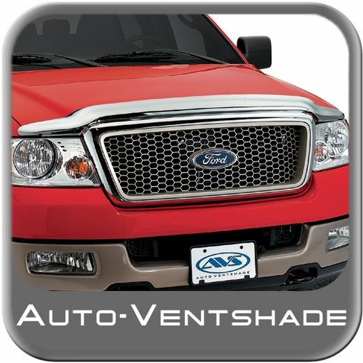 2011-2015 Ford F350 Truck Bug Deflector Hood Shield Wrap Style Chrome Auto Ventshade AVS #680059