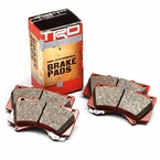 2012 (2008-2012) Toyota Land Cruiser Brake Pads High Performance Pad Set Aramid/Ceramic-strengthened Compound Front Set Genuine Toyota #PTR09-0C111