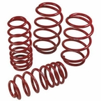 2012 (2008-2014) Scion xD Lowering Springs Steel Spring Set TRD Performance Suspension Red Powder-coated Set of 4 Genuine Toyota #PTR11-52081