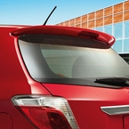 2012 (2012-2016) Toyota Yaris Hatchback Rear Spoiler Absolutely Red (3PO) Genuine Toyota #08150-52880-D0