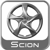 "2012-2014 Scion iQ Wheel Cover For 16"" Steel Wheels 5-Spoke Sold Individually"
