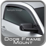 <center>Rain Guards - Front Pair<br><font color=�#000000�><b> 2013-2014<br>2-Door </b></font><br><small><font color=�#0033FF�><i> Exterior Mount, Dark Smoke Acrylic, AVS Brand </i></font></small></center>