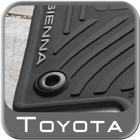 The Best New 2015 Toyota Sienna Rubber Floor Mats From