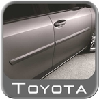 2014 (2014-2017) Toyota Corolla Body Side Moldings Black Sand Pearl (color code 209) Set of 4 Genuine Toyota #PT938-02140-02