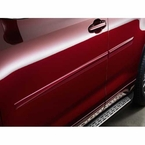 2014 (2014-2016) Toyota Highlander Body Side Moldings Alumina Jade Metallic (color code 6W4) Set of 4 Genuine Toyota #PT938-48141-06