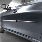 2015 (2015-2017) Toyota Camry Body Side Moldings Cosmic Gray Mica (color code 1H2) Set of 4 Genuine Toyota #PT29A-00140-21