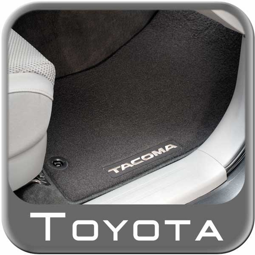 2015 Toyota Tacoma Carpeted Floor Mats Black