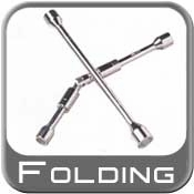 Folding Lug Wrench
