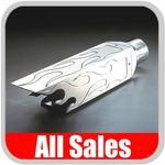 Billet Aluminum Exhaust Tip