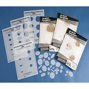 Airbrush Templates Includes 44 Laser cut Circle Templates Set of 44 Templates Badger #47-1