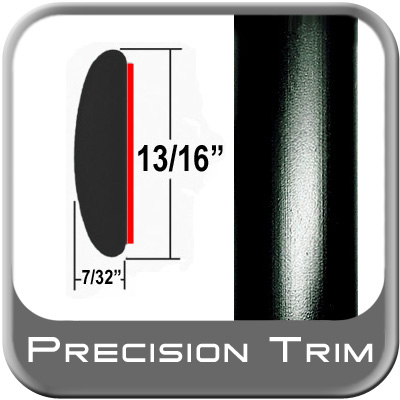 "13/16"" Wide Molding Trim Black Sold by the Foot Precision Trim® #40100-60-01"