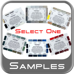 Color Sample Card Brandsport #CARD