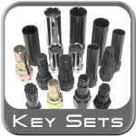 Brandsport ® Master Wheel Lock / Lug Nut Keys 16 or 18 Piece Kit #Keys