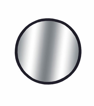 """CIPA 2"""" Round Blind Spot Mirror 2"""" Round, Black Backing Stick on, Convex Sold Individually #49102"""