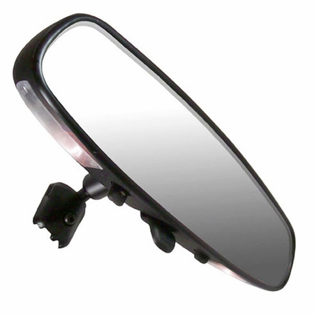 "CIPA Rear View Mirror w/Map Lights 10"" Day/Night Interior Rearview Mirror Standard Wedge Mount Style Sold Individually #36000"