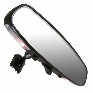 """CIPA Rear View Mirror w/Map Lights 10"""" Day/Night Interior Rearview Mirror Standard Wedge Mount Style Sold Individually #36000"""