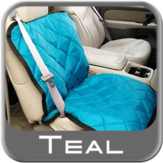 Covercraft Teal Pet Seat Cover Teal Material Bucket Seat Style