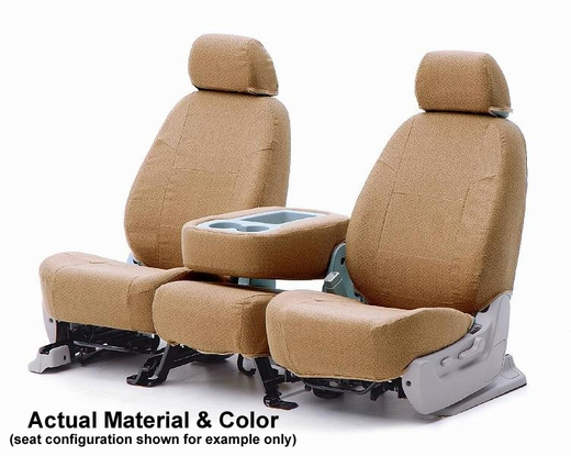 CoverKing CSC1T5 Tailored Seatcovers Tan Color Tweed Material